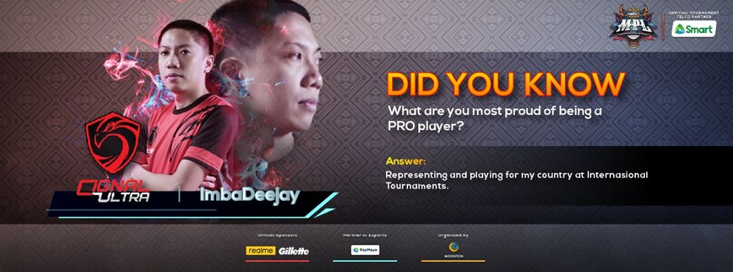 MPL-PH Player Interview - ImbaDeejay